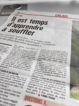 chronique bien-être Nord Littoral Sophrologie Calais